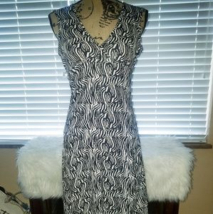 Mossimo Black and White Dress